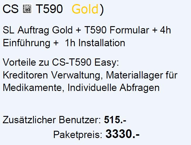 CS-T590 Gold