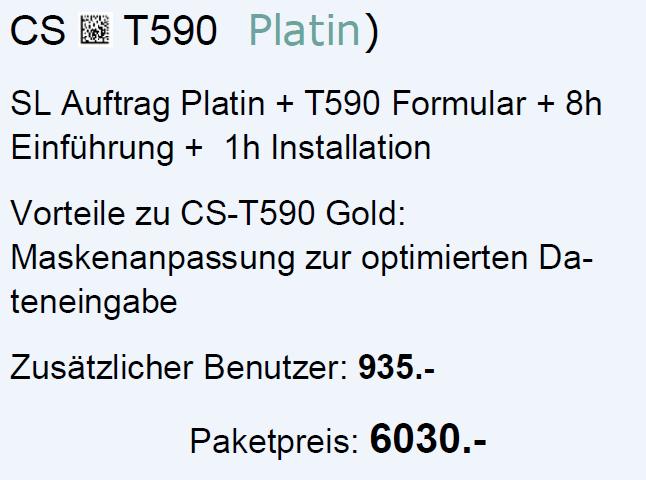 CS-T590 Platin